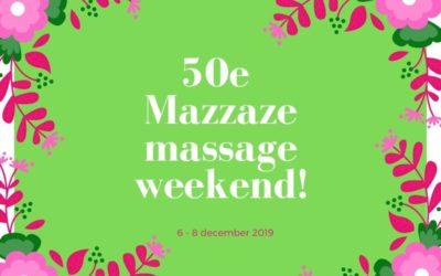 Het 50e Mazzaze weekend
